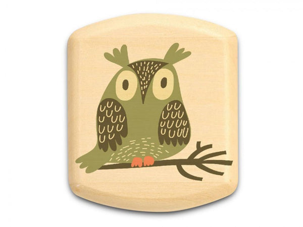 "ASPEN SECRET BOX (2"" X 2"") - GREEN OWL"