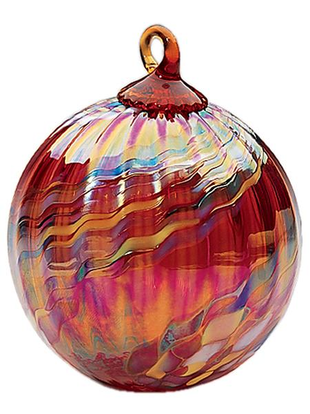 CLASSIC ROUND ORNAMENT - HOLIDAY SWIRL