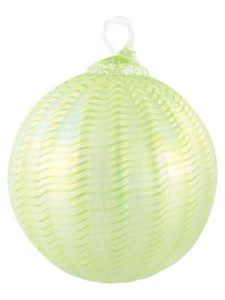 CLASSIC ROUND ORNAMENT - HONEYDEW SORBET