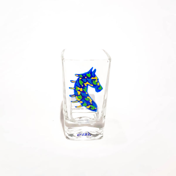 HORSE HEAD SHOT GLASS