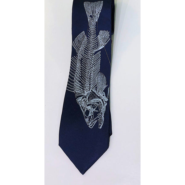 FISHBONE SILK NECKTIE