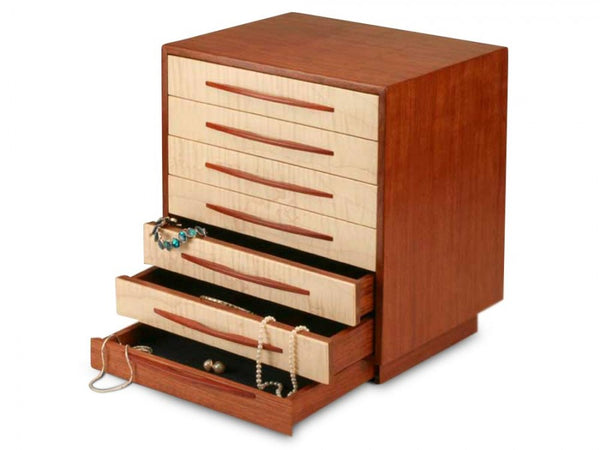 CANYON I JEWELRY BOX - 7 DRAWER