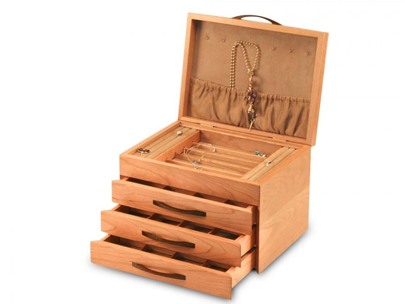 CHERRY BLOSSOM JEWELRY BOX - 3 DRAWER