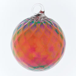 CLASSIC BIRTHSTONE ORNAMENT - JULY (RUBY)