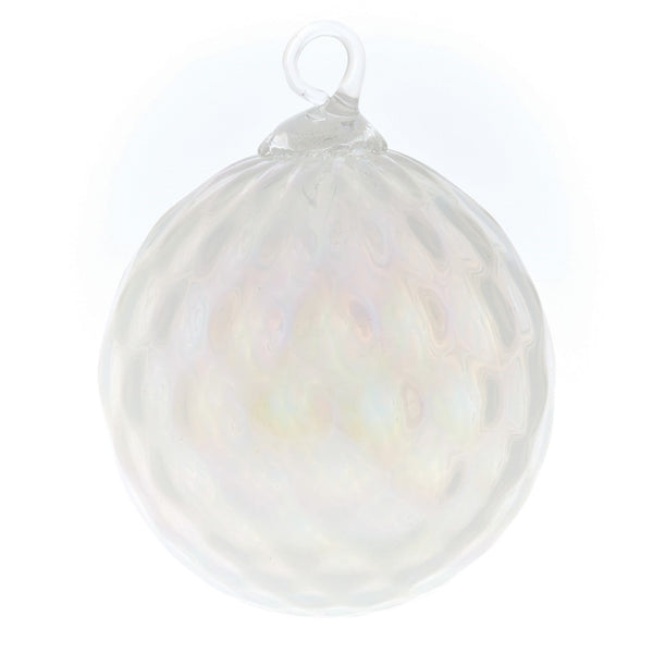 CLASSIC BIRTHSTONE ORNAMENT - JUNE (PEARL)