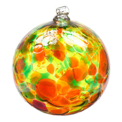 "2"" CALICO ORNAMENT - AUTUMN LEAVES"