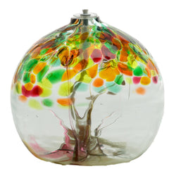 "6"" TREE OF ENCHANTMENT OIL LAMP - SISTERS"