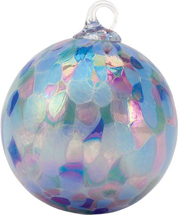 CLASSIC ROUND ORNAMENT - LAVENDER FIELDS