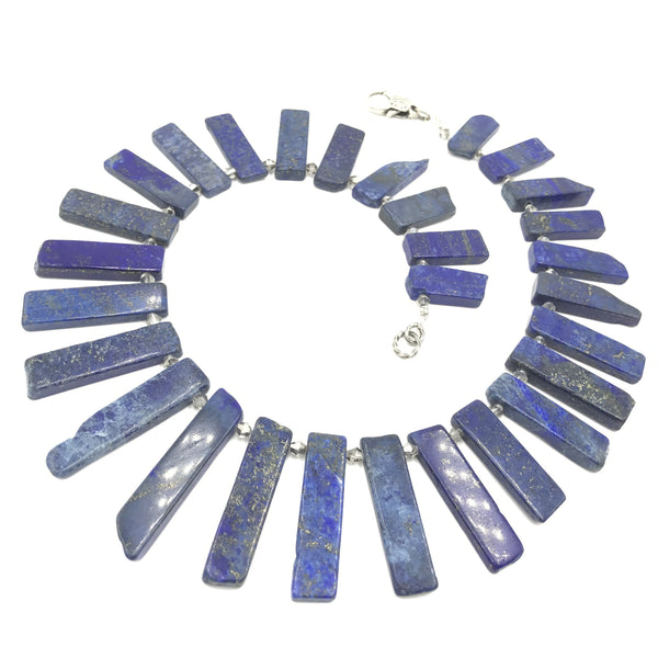 Lapis in Love Necklace
