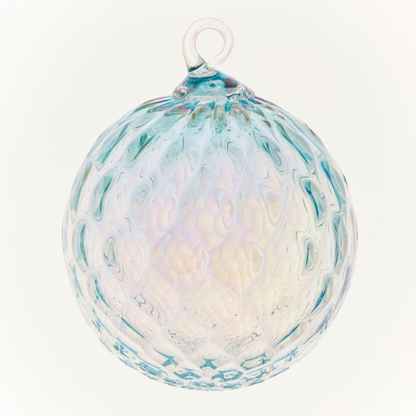 CLASSIC BIRTHSTONE ORNAMENT - MARCH (AQUAMARINE)