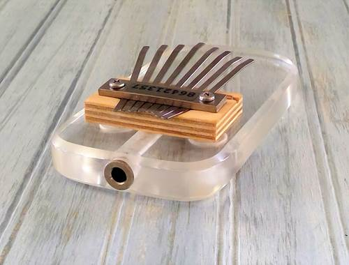 THUMB PIANO - AMPLIFIED ACRYLIC