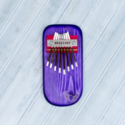 THUMB PIANO - PURPLE