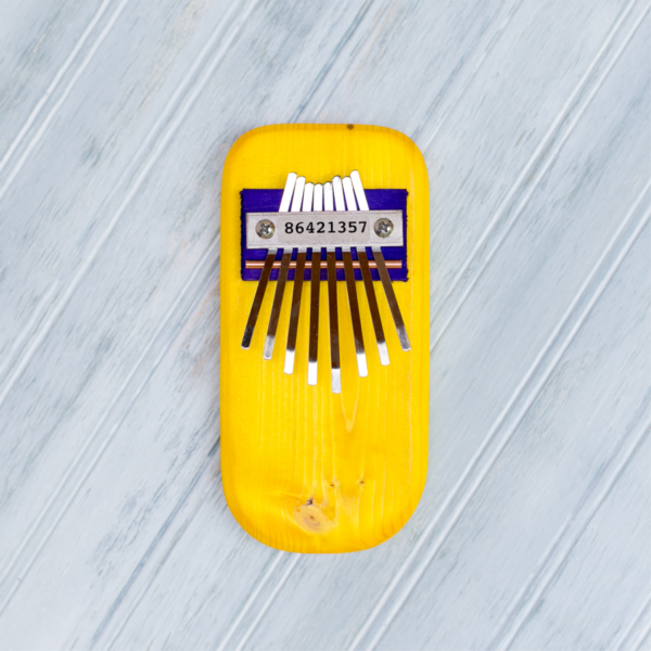 THUMB PIANO - YELLOW