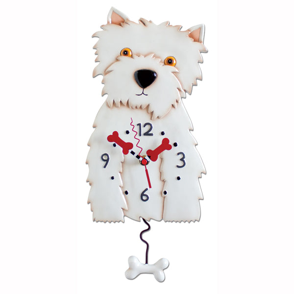 WESTON DOG CLOCK
