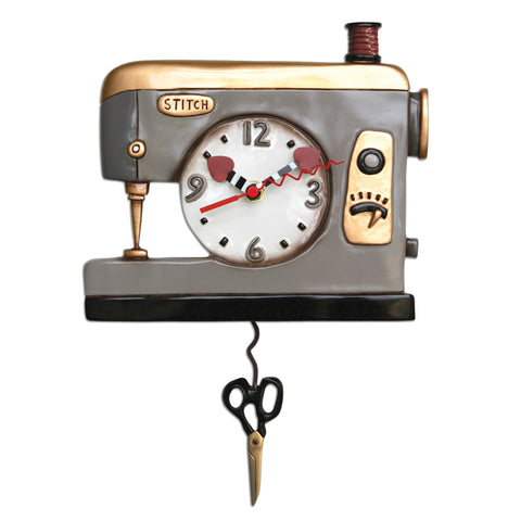 Back Stitch Clock
