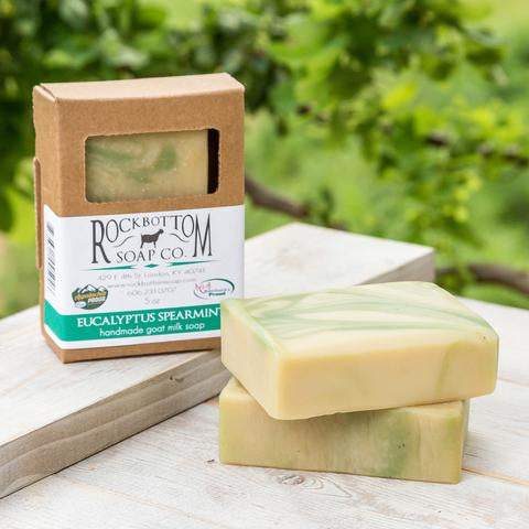 EUCALYPTUS SPEARMINT BAR SOAP