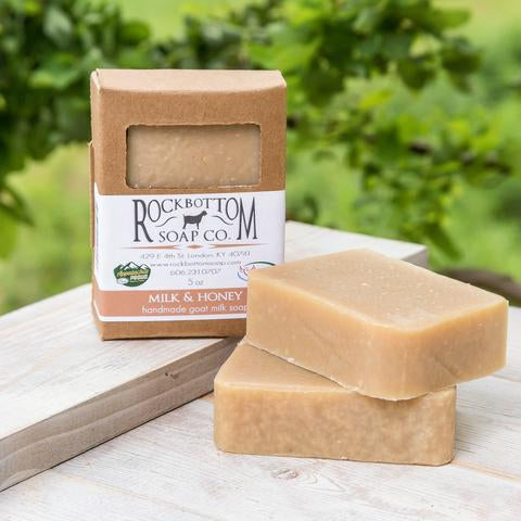 MILK & HONEY BAR SOAP