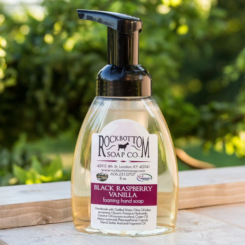 BLACK RASPBERRY VANILLA FOAMING SOAP
