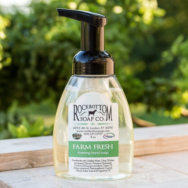 FARM FRESH FOAMING SOAP