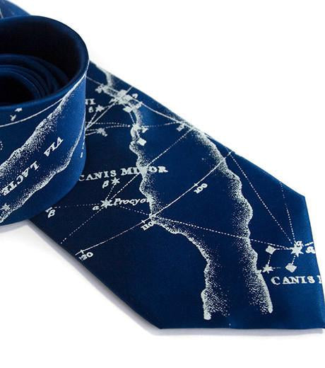 MILKY WAY GALAXY SILK NECKTIE
