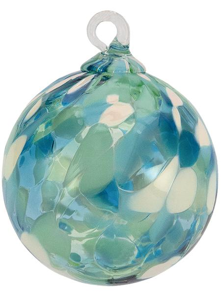 CLASSIC ROUND ORNAMENT - SEA GLASS