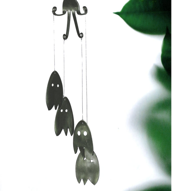 SILVER GHOST WIND CHIME