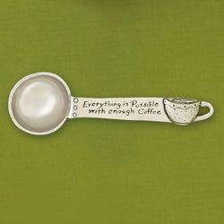 """ENOUGH COFFEE"" COFFEE SCOOP"