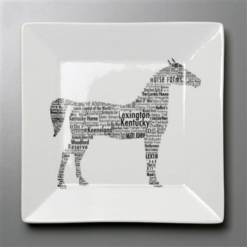 "6.75"" LEXINGTON KENTUCKY HORSE PLATE"