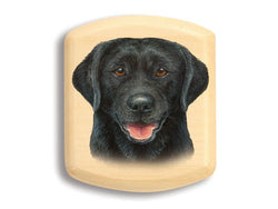 "2"" Flat Narrow Aspen -Black Lab"