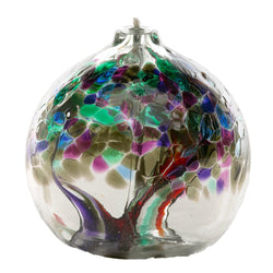 "6"" TREE OF ENCHANTMENT OIL LAMP - STRENGTH"