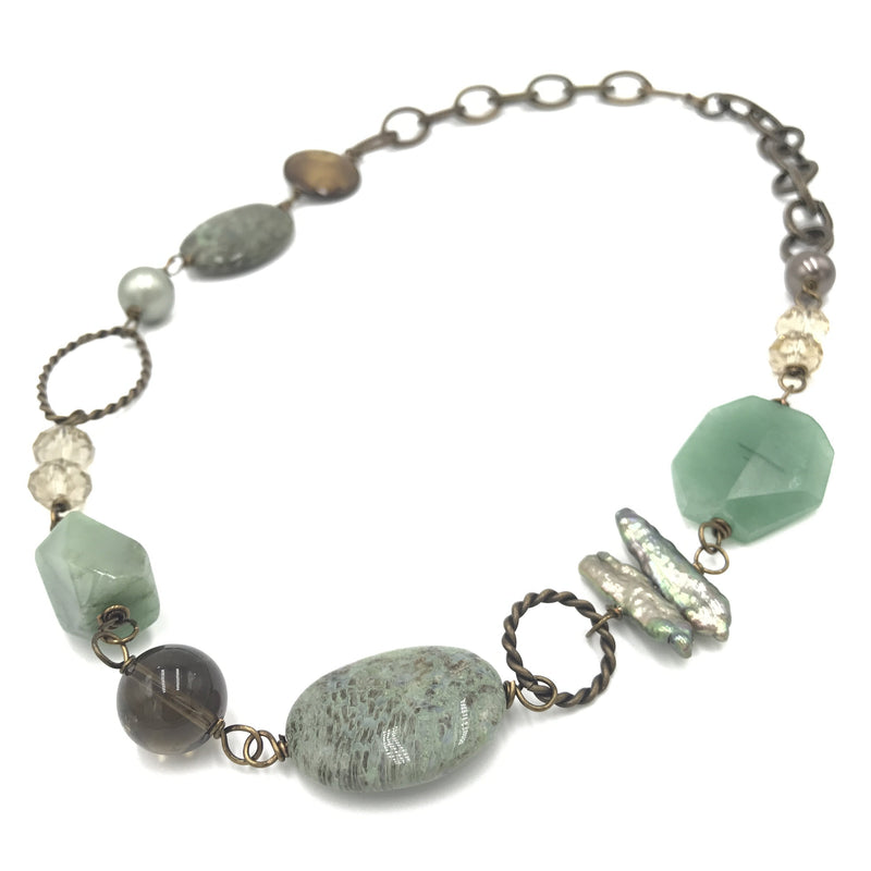 Soothing Stream Necklace