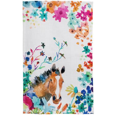 HORSE TEA TOWEL