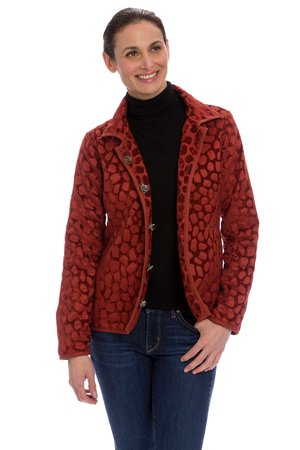 CLASSIC REVERSIBLE JACKET GEORGIA CLAY CINNAMON
