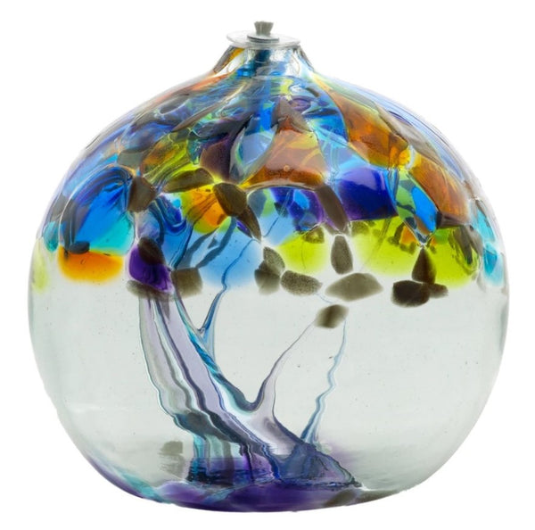 "6"" TREE OF ENCHANTMENT OIL LAMP - WISDOM"