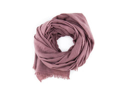 NATURALLY DYED CASHMERE SCARF
