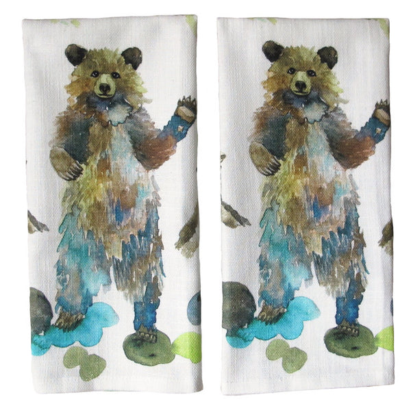 BEAR FAMILY TEA TOWEL