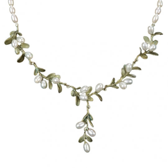 BOXWOOD PEARL BEADED NECKLACE