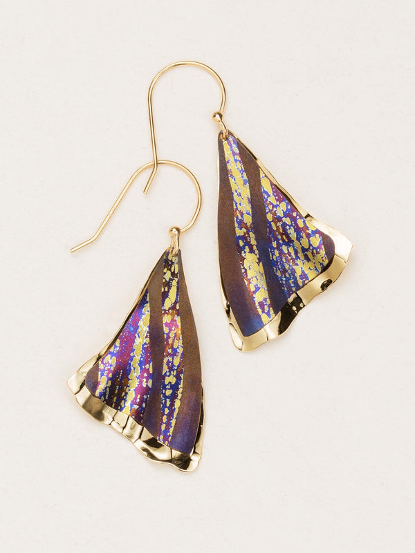 Brown Misty Point Earrings