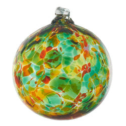 "2"" CALICO ORNAMENT - GREEN MEADOW"