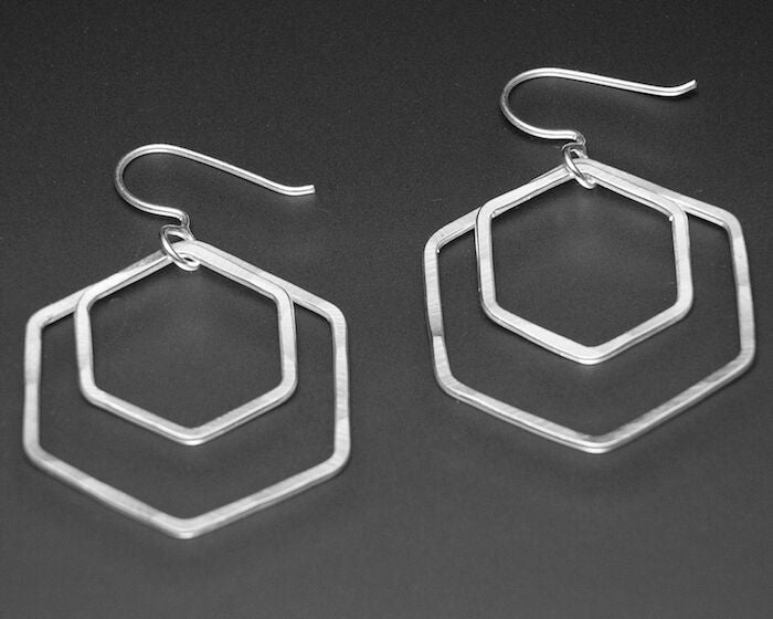 HEXACOMB EARRINGS