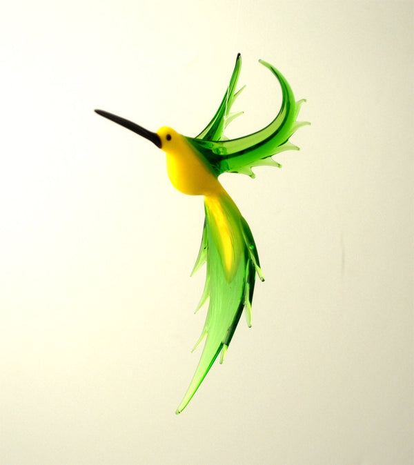 GLASS MEDIUM HUMMINGBIRD