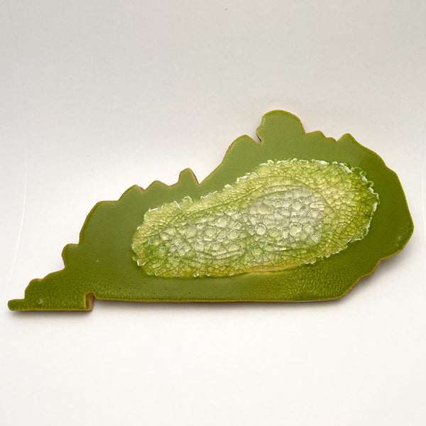 KENTUCKY TRIVET LEAF GREEN