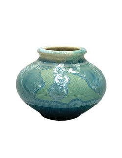 STELLAR VIOLA VASE (CREAM/GREEN/BLUE)