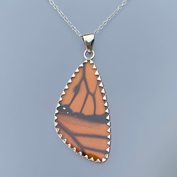 BUTTERFLY PENDANT LARGE- MONARCH