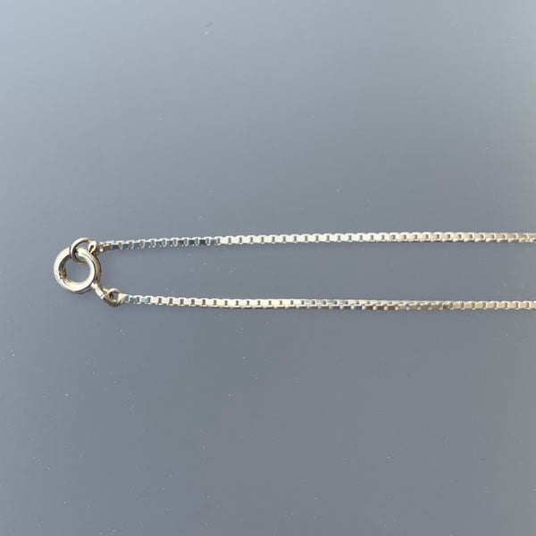 1 MM BOX CHAIN 16""