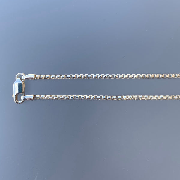 1.85 MM ROUNDED BOX CHAIN 16""