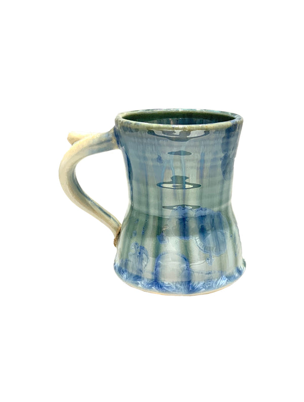STELLAR EARLY MORNING MUG (CREAM/GREEN/BLUE)