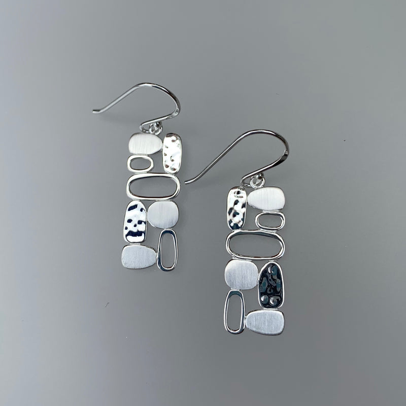 CONTEMPORARY STACK EARRING