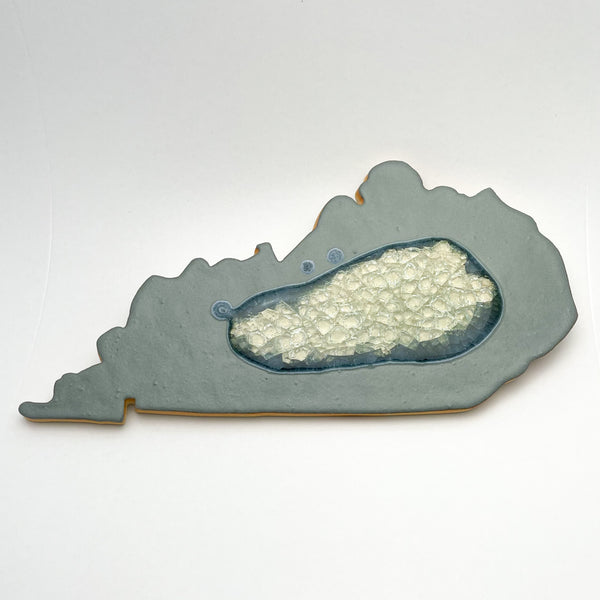 KENTUCKY TRIVET MATTE GRAY