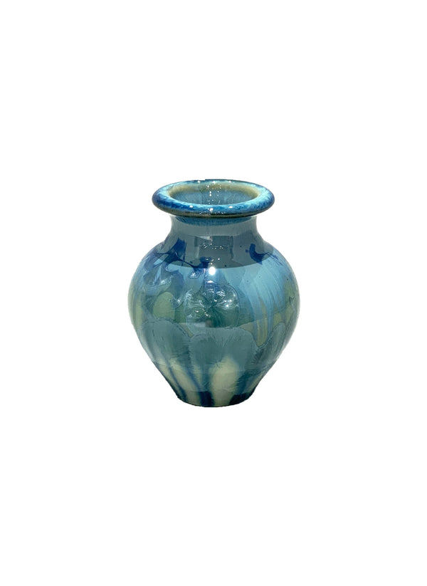 STELLAR JASMINE VASE (CREAM/GREEN/BLUE)
